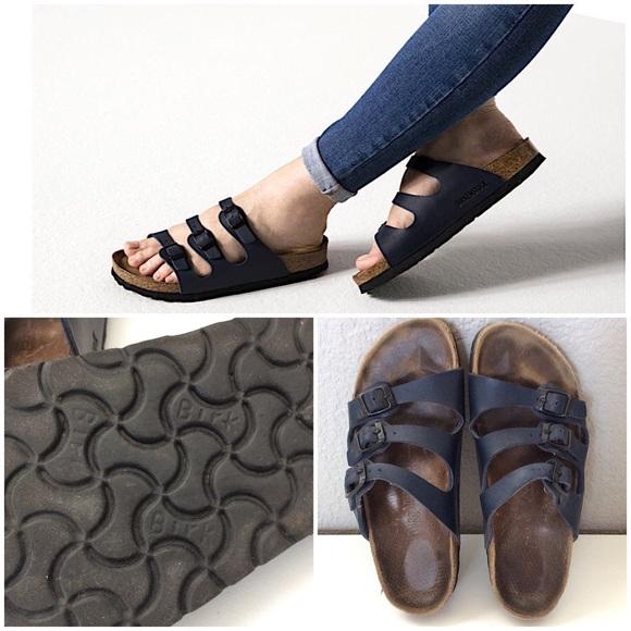 955e3db8124 Birkenstock Shoes - Birkenstock Florida 3-strap Sandal - EU size 38